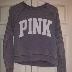 Vintage pink crew neck